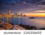Tel Aviv Skyline. Cityscape...