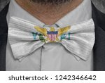 flag of virgin islands on...   Shutterstock . vector #1242346642