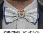 flag of west virginia on bowtie ...   Shutterstock . vector #1242346648