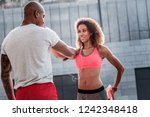 physical training. nice... | Shutterstock . vector #1242348418