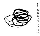 rubber band icon   Shutterstock .eps vector #1242391675