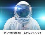 cosmonaut or astronaut or... | Shutterstock . vector #1242397795
