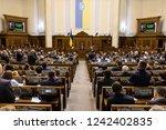 kiev  ukraine   nov. 26  2018 ... | Shutterstock . vector #1242402835