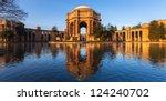 palace of fine arts in early...   Shutterstock . vector #124240702