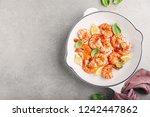 tasty appetizing fried grilled... | Shutterstock . vector #1242447862