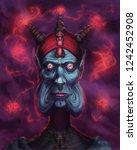 Portrait Of A Sorcerer Casting...