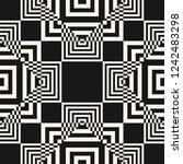 raster geometric seamless...   Shutterstock . vector #1242483298