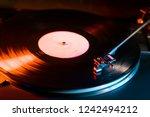 phono or capsule head of... | Shutterstock . vector #1242494212
