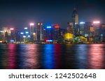 hong kong   november 6  2018 ... | Shutterstock . vector #1242502648