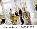 portrait of senior...   Shutterstock . vector #1242511372