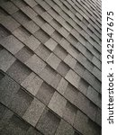 asphalt roof shingles. abstract ... | Shutterstock . vector #1242547675