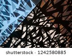 multiple exposure photo of... | Shutterstock . vector #1242580885
