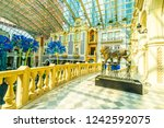 china  macau   september 9 2018 ...   Shutterstock . vector #1242592075