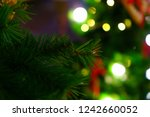 close up of christmas... | Shutterstock . vector #1242660052