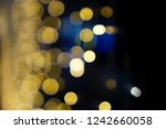 brown yellow and red flickering ... | Shutterstock . vector #1242660058