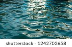 blue sea surface for background.... | Shutterstock . vector #1242702658