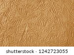 brown paper with decorative... | Shutterstock . vector #1242723055