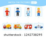 matching children educational... | Shutterstock .eps vector #1242738295