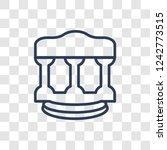 roman law icon. trendy linear...   Shutterstock .eps vector #1242773515