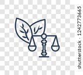 environmental law icon. trendy... | Shutterstock .eps vector #1242773665