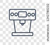 coffee maker icon. trendy... | Shutterstock .eps vector #1242780232