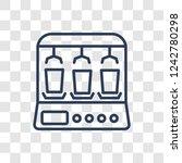 yogurt maker  icon. trendy... | Shutterstock .eps vector #1242780298