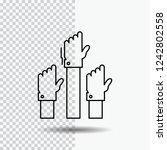 aspiration  business  desire ...   Shutterstock .eps vector #1242802558