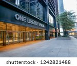 new york   sep 2017  one... | Shutterstock . vector #1242821488