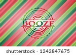 booze christmas colors style...   Shutterstock .eps vector #1242847675