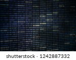 big overload blockchain data.... | Shutterstock . vector #1242887332