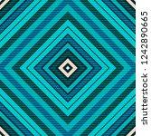 tartan fabric texture. seamless ... | Shutterstock . vector #1242890665