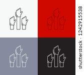 aspiration  business  desire ...   Shutterstock .eps vector #1242915538