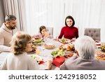 warm toned portrait of big...   Shutterstock . vector #1242918052