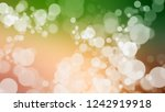 gradient with bokeh effect ... | Shutterstock . vector #1242919918