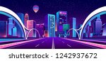 vector concept background with... | Shutterstock .eps vector #1242937672