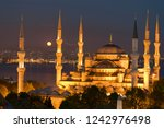 istanbul city and mosques | Shutterstock . vector #1242976498