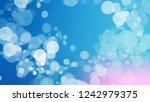 gradient with bokeh effect ... | Shutterstock . vector #1242979375