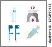 4 therapy icon. vector...   Shutterstock .eps vector #1242990688
