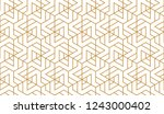 the geometric pattern with... | Shutterstock .eps vector #1243000402