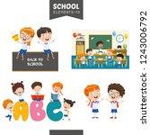vector illustration of... | Shutterstock .eps vector #1243006792