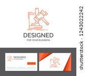 business logo template for... | Shutterstock .eps vector #1243022242