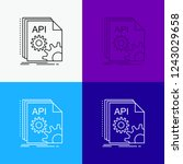 api  app  coding  developer ... | Shutterstock .eps vector #1243029658