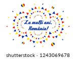 great union day or unification...   Shutterstock .eps vector #1243069678