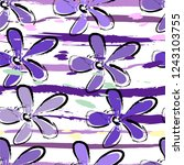 floral seamless pattern...   Shutterstock .eps vector #1243103755