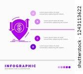 transaction  financial  money ... | Shutterstock .eps vector #1243113622