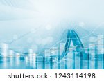 finance and business investment ...   Shutterstock . vector #1243114198