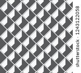 geometric vector pattern ... | Shutterstock .eps vector #1243122058