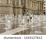 philadelphia  usa   may 29 ... | Shutterstock . vector #1243127812
