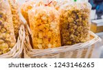 variety of a large bags with... | Shutterstock . vector #1243146265