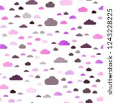 light purple vector seamless... | Shutterstock .eps vector #1243228225